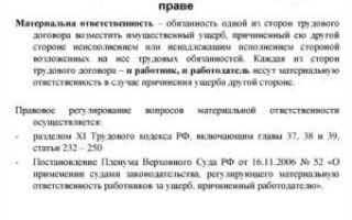Полная материальная ответственность руководителя организации: образец договора с директором ооо