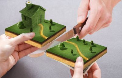 Особенности раздела земельных участков: при аренде, разводе и разделе дома