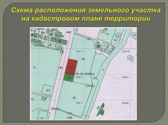 Как подготовить план-схему расположения земельного участка на кадастровом плане территории?