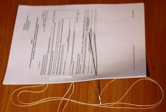 Как правильно сшивать документы? Советы, видео
