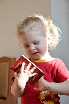 Как сделать загранпаспорт нового образца ребенку до 14 лет?