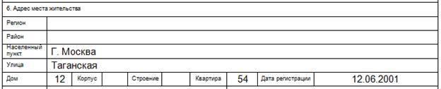 Заполнение анкеты на загранпаспорт старого образца: образец и правила заполнения