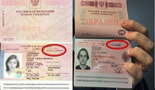 Серия и номер загранпаспорта: как посмотреть и что означают?