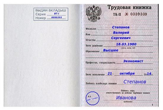 Приказ о ведении трудовых книжек: образец, правила ведения и хранения, постановление 225, кто ответственный, акты, правила