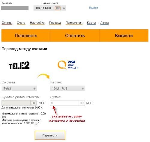 Как обменять Яндекс Деньги на qiwi